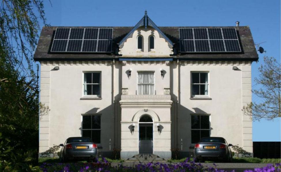 eco hotels Caemorgan Mansion
