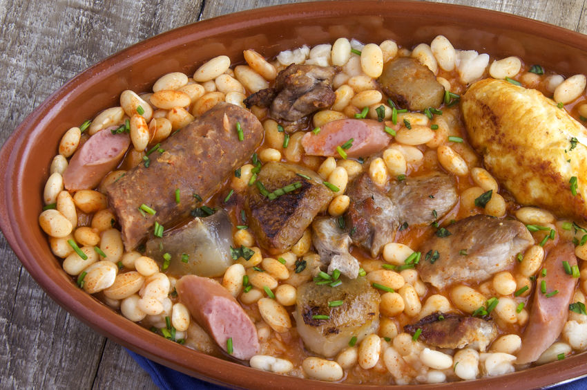 31214074 - cassoulet stew typical of southern france