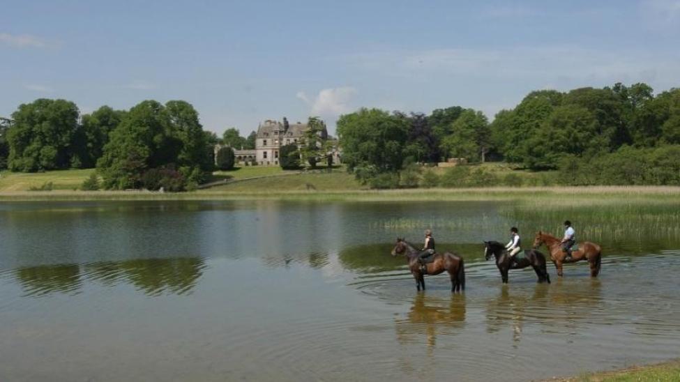 Ireland- Castle Leslie Estate