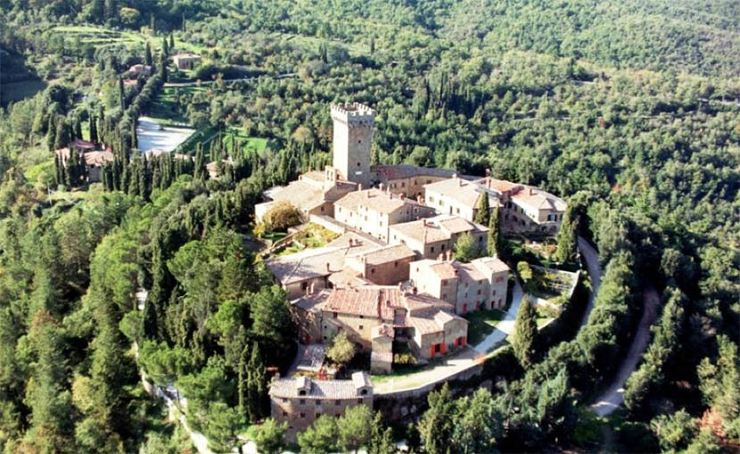 Castello di Gargonza Tuscany Italy