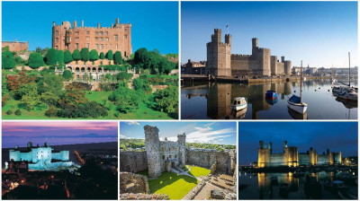 Itinerary - Castles in Wales