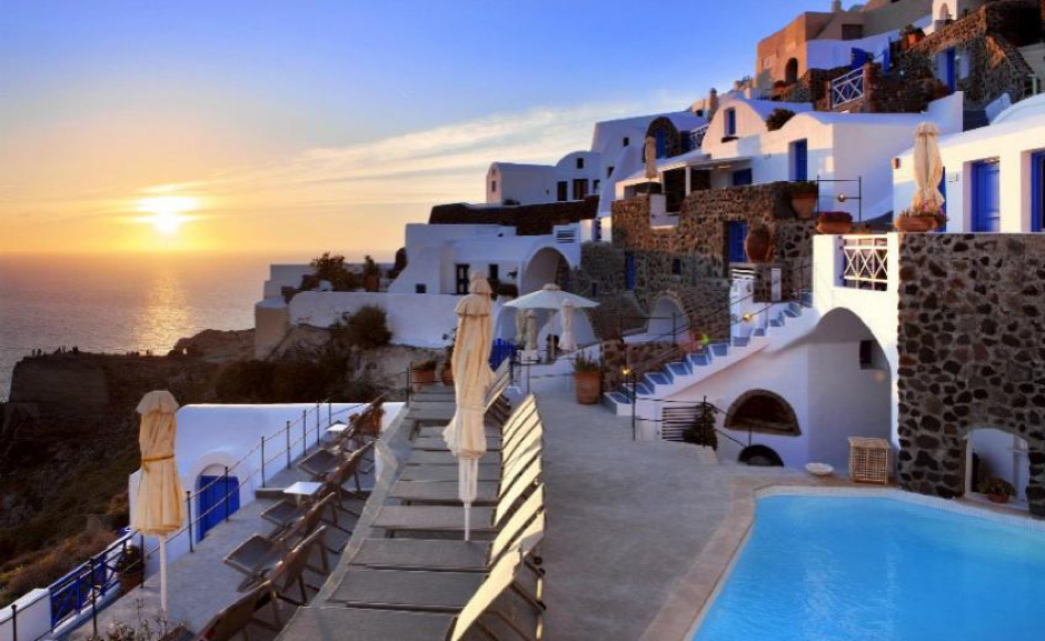 Esperas Santorini Instagrammable locations in Greece