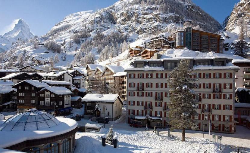 Hotel Monte Rosa Zermatt Switzerland