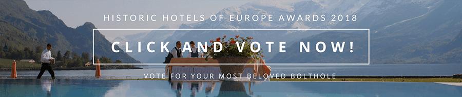 Historic hotels of europe awards 2018