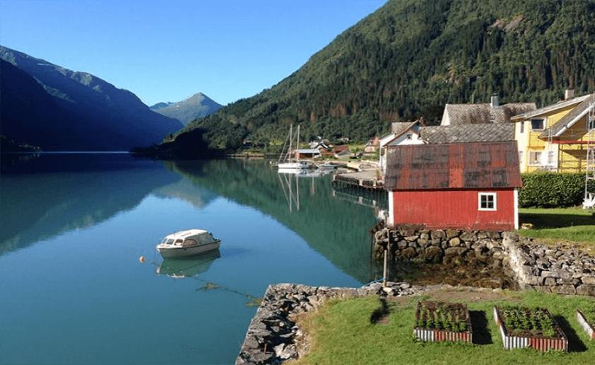 Fjærland Fjordstove Hotell & Restaurant, Norway