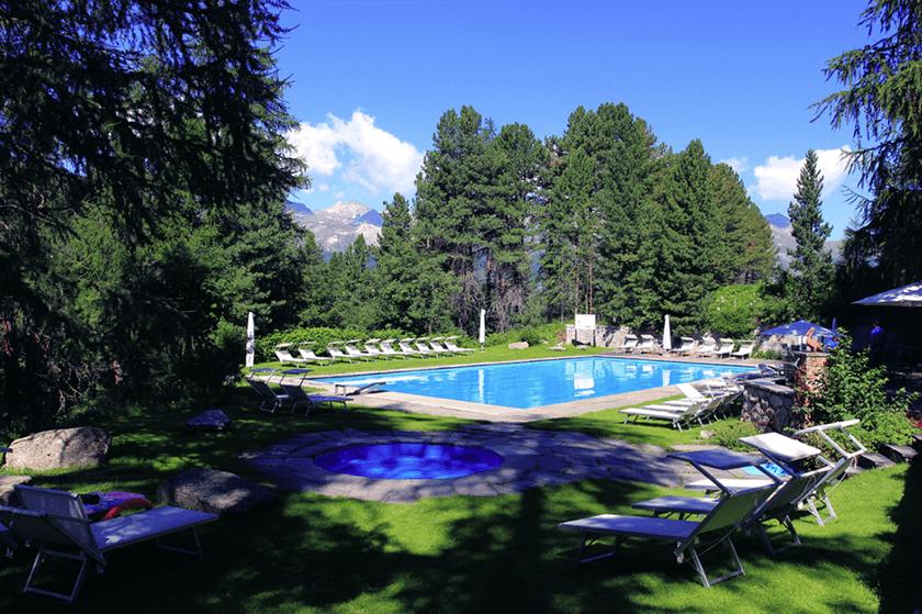 Hotel Saratz, Switzerland
