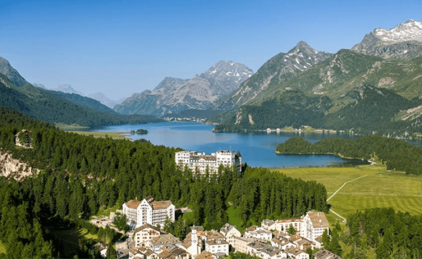 Grandhotel Waldhaus Sils, Switzerland I Historic Hotels of Europe