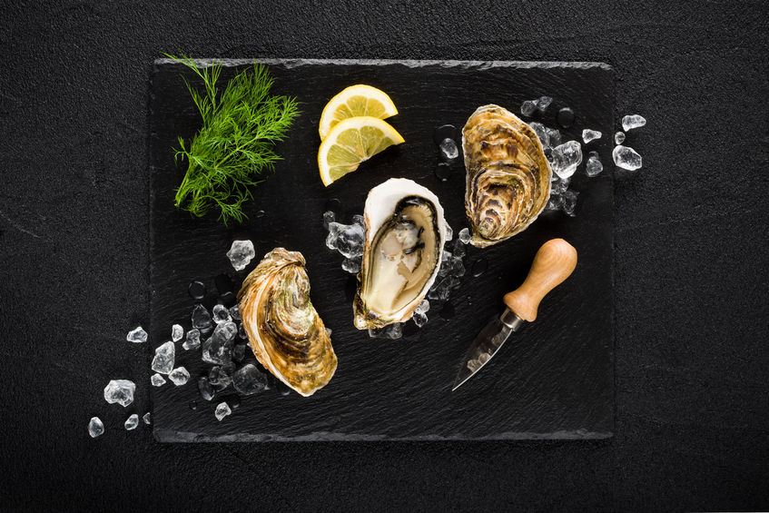 Seafood in Europe - Oysters in Galway