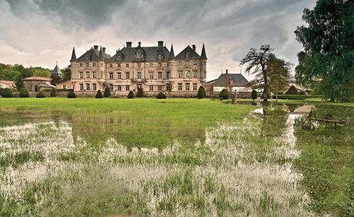 Chateau des Monthairons, France