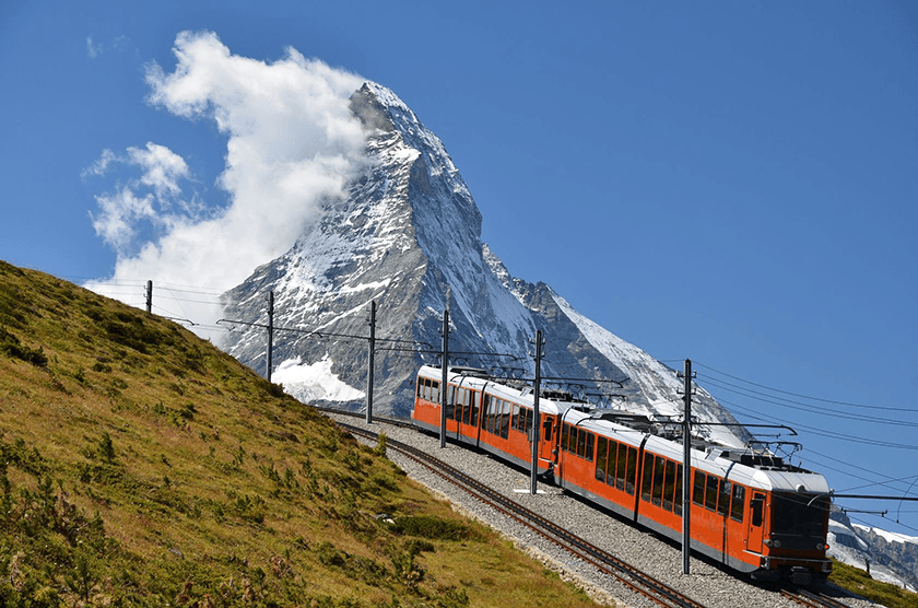 Zermatt, Gornergratbahn, Switzerland