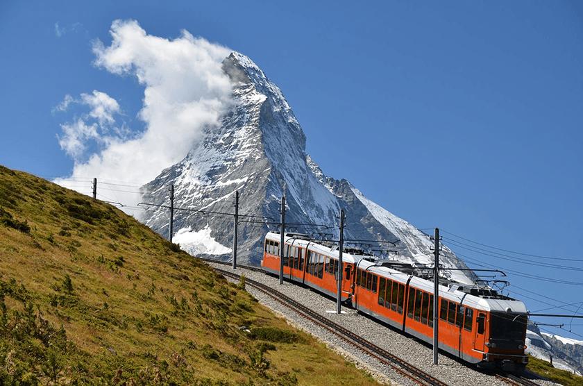 Zermatt, Gornergratbahn, Switzerland