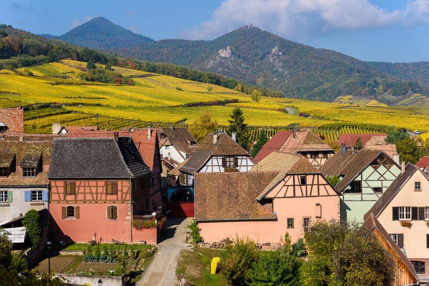 Hunawihr, village in Alsace, France