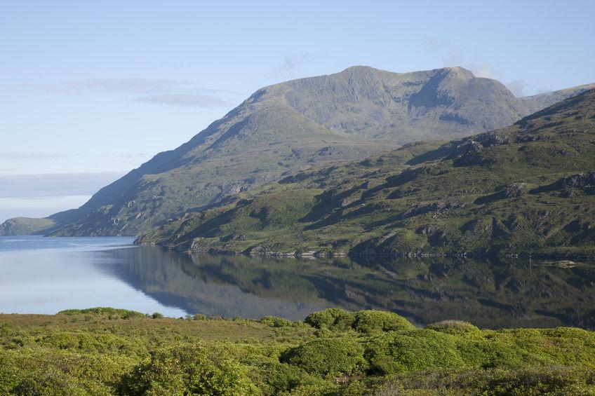 Hiking Killary fjord, Ireland
