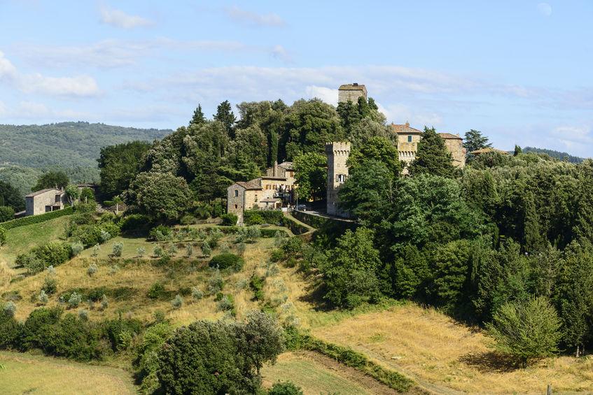 Panzano in Chianti, Tuscany, Italy