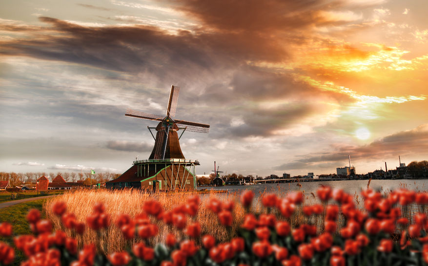 Happiest countries in Europe - Netherlands
