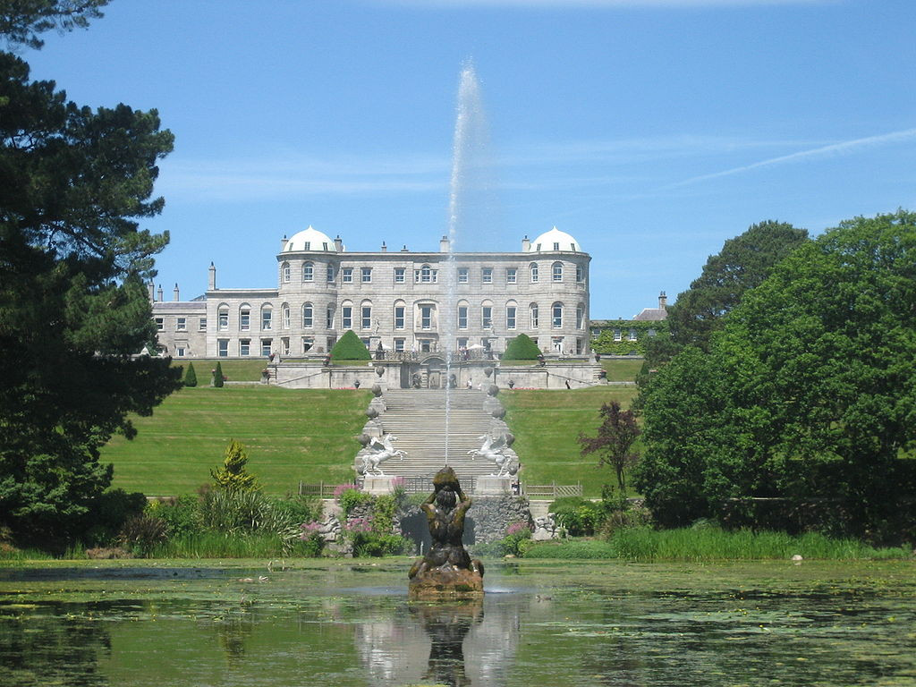 Powerscourt garden, Ireland