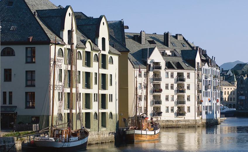 Hotel Brosundet, Norwayy