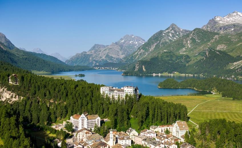 Hotel Waldhaus Sils, Switzerland