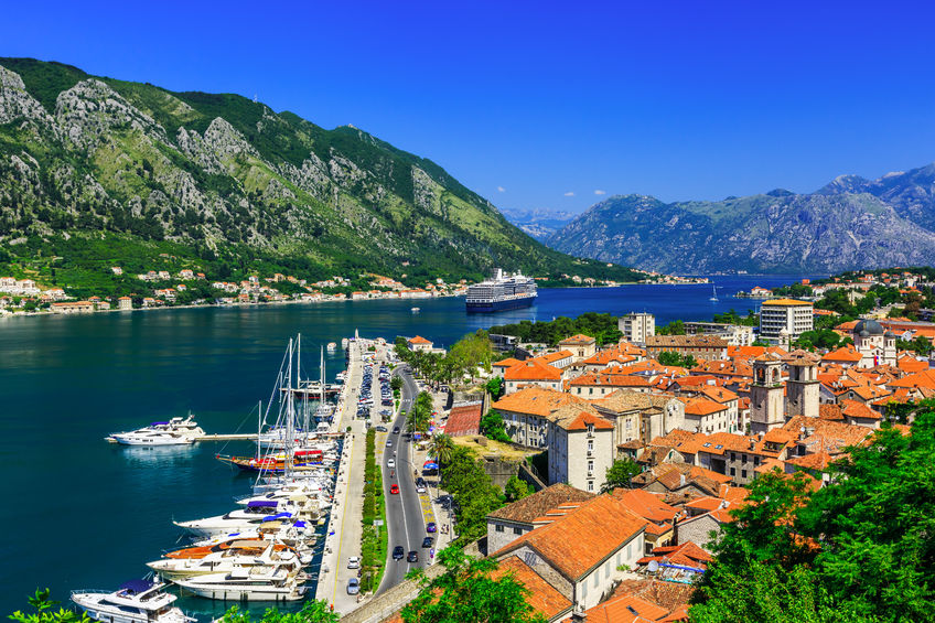 kotor bay and old town, montenegro