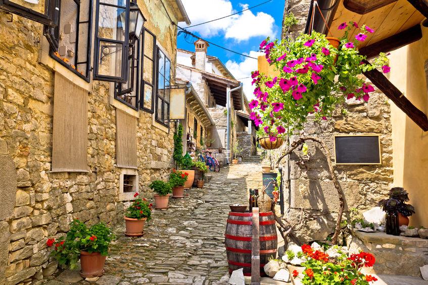 Town of Hum, Istria, Croatia