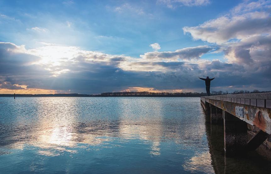 Lake Veere, Netherlands
