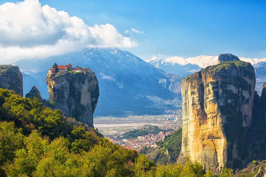 Monastery Holy Trinity, Meteora , Greece