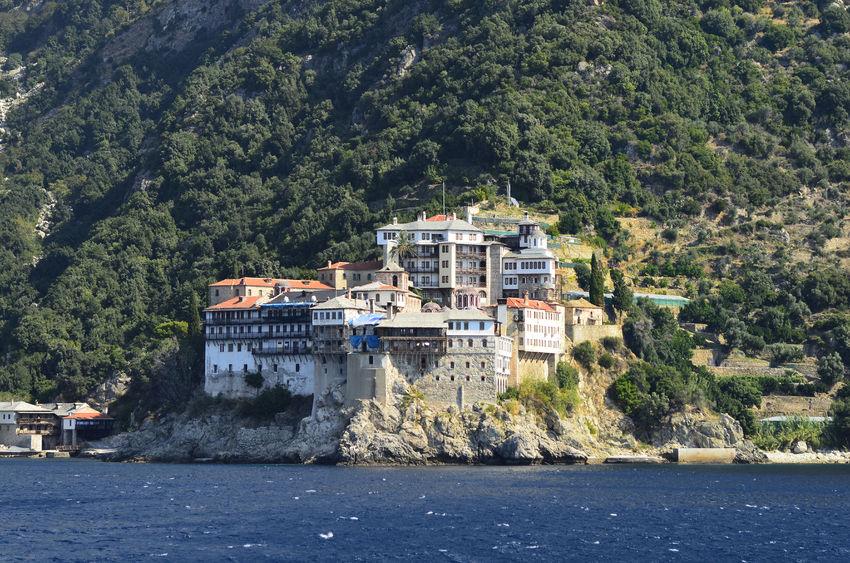 greece, mount athos, monastery agia grigoriou