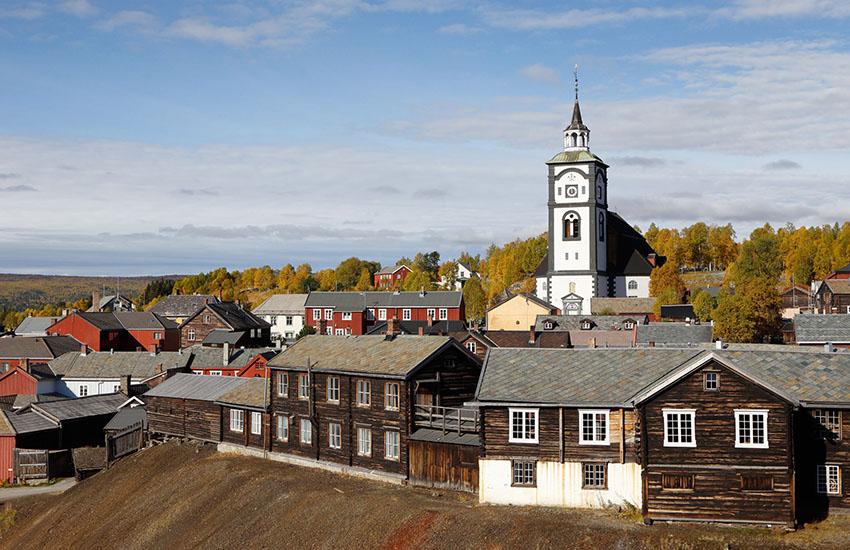 mining town roros norway