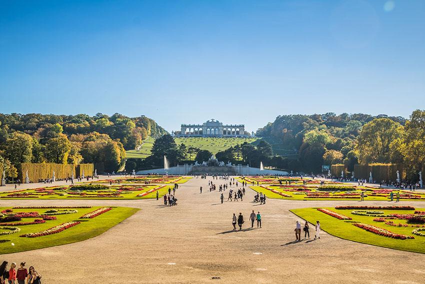 Palace Garden of Schonbrunn, Austria