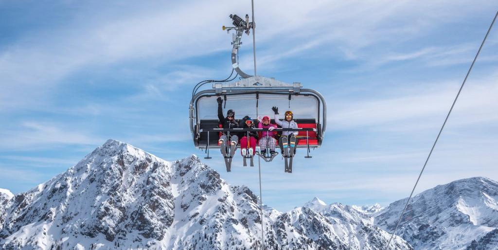 Kronplatz, Italy, Skilift
