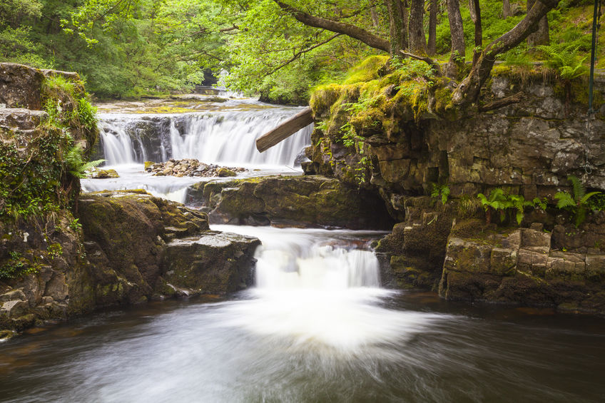 Four falls trail, Brecon Beacons, Wales