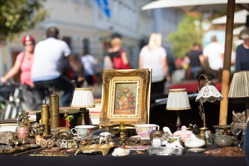 Antique markets in Europe