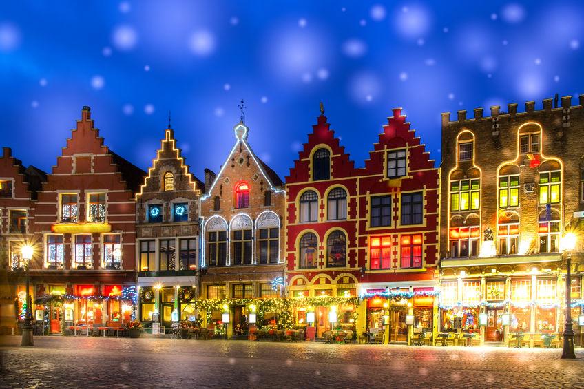 Bruges Christmas time