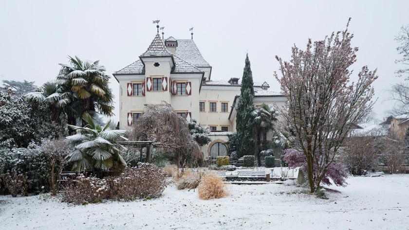 Castel-Rundegg-Meran-Winter-Italy