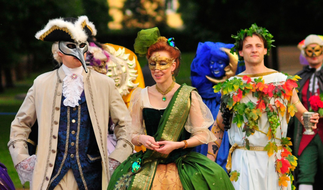 Rococo Festival in Ansbach, Germany