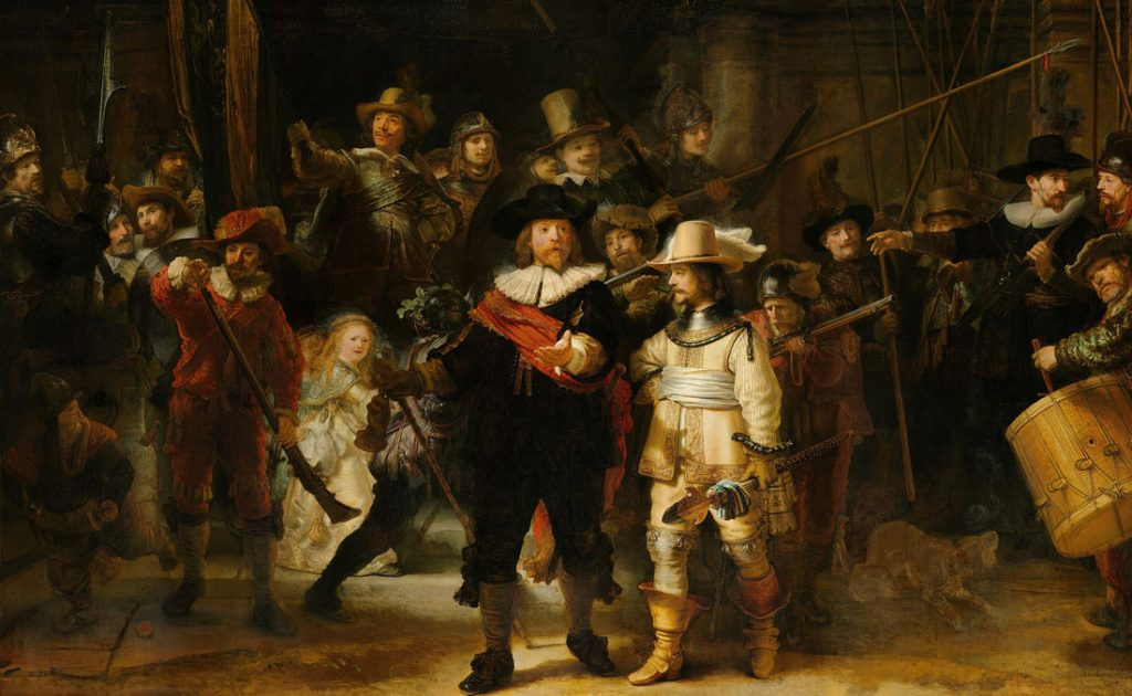 World Heritage Day 2020, Rijksmuseum Amsterdam, Virtual Tour Rembrand´s painting Night Watch
