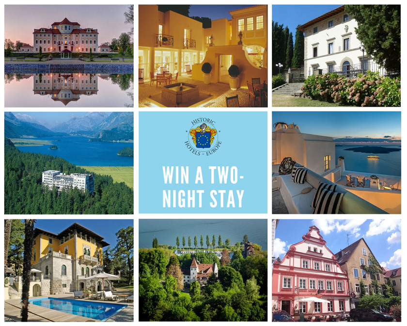 WIN a two-night stay at one of our Historic Hotels