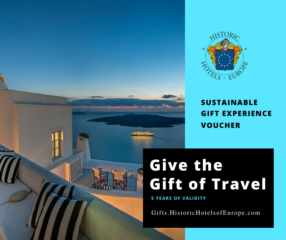 Historic Hotels of Europe´s brand new Gift Experience Voucher