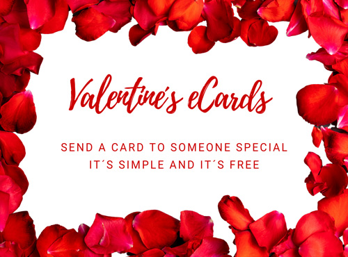 Send Valentine´s eCards – it´s free