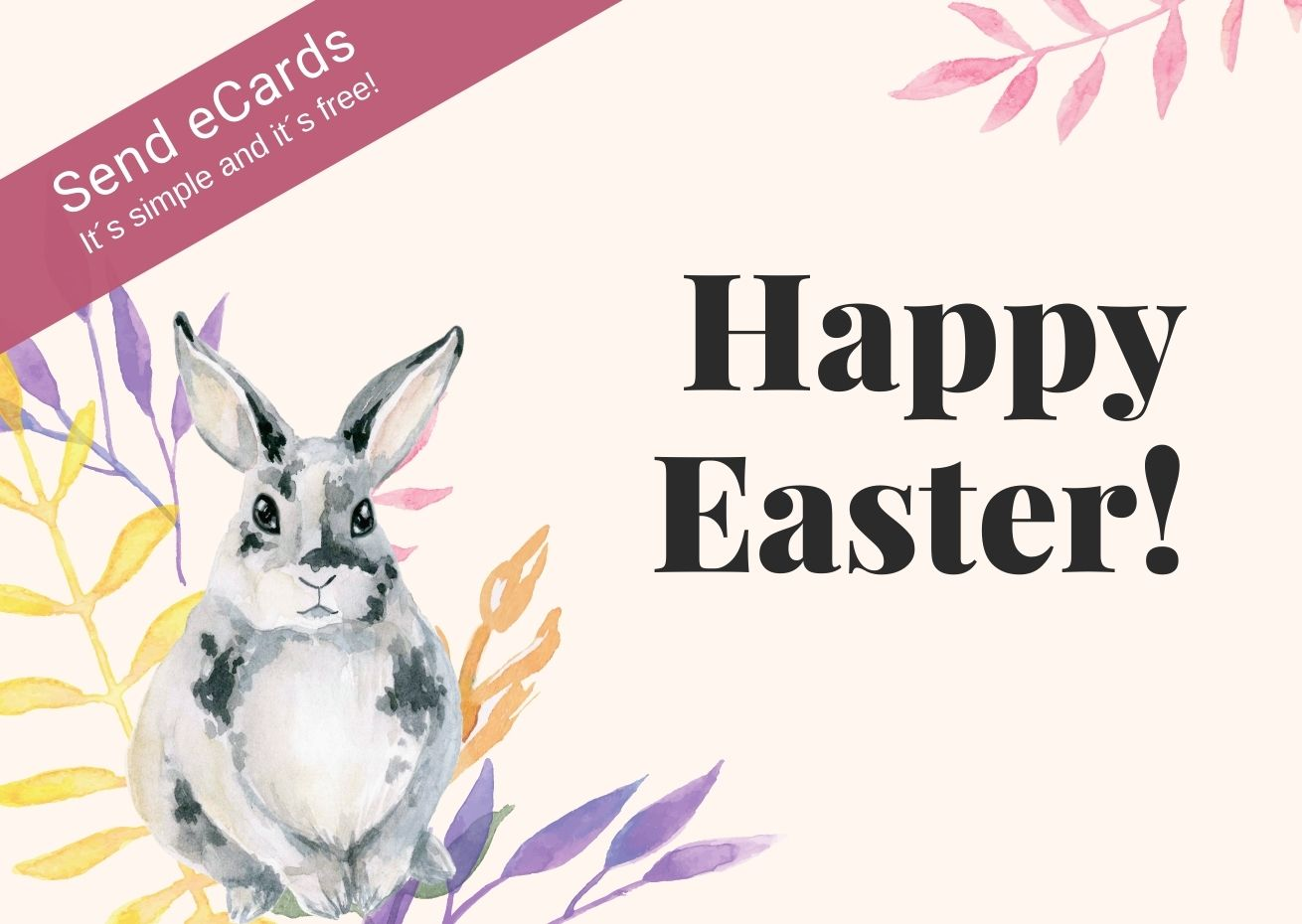 Feast your eyes on our Easter e-cards
