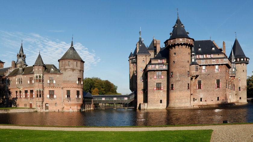 De Haar Castle in Netherlands