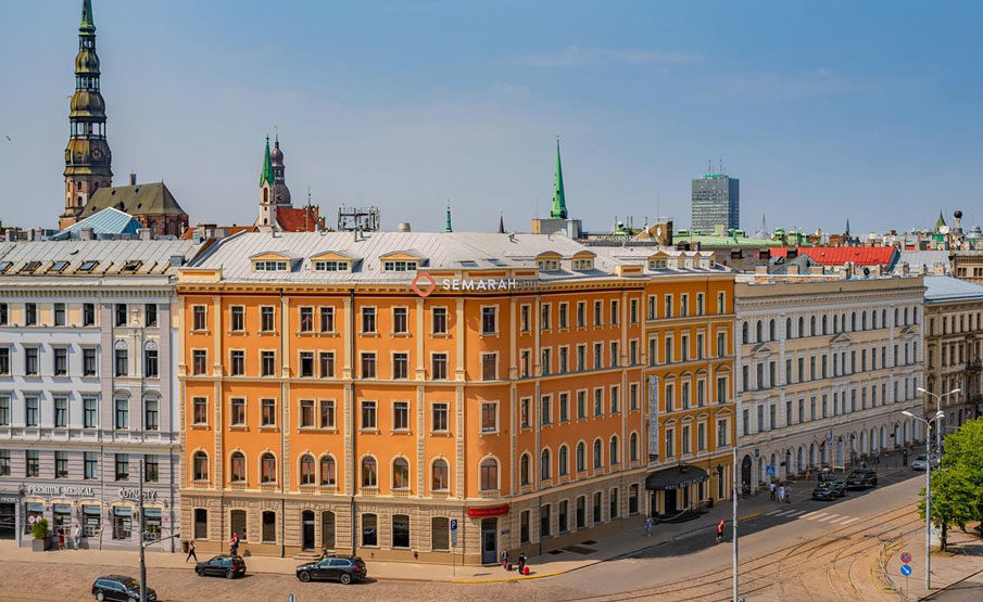 Metropole Hotel in Riga, Latvia