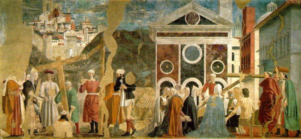 Fresco of Piero della Francesca, Arezzo